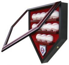 13 Baseball Display Case