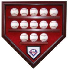 13 Baseball Display Case