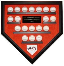 San Francisco Giants Baaseball Display Case
