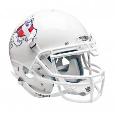 Fresno State White Helmet