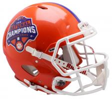 Clemson National Championship CFP Speed Authentic Helmet by Riddel