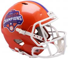 Clemson National Championship CFP Speed Replica Helmet by Riddell