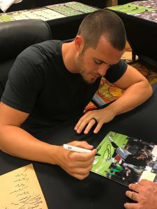 Derek Carr Signing for National Sports Distributors
