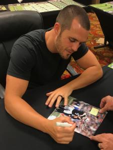 Derek Carr Signing