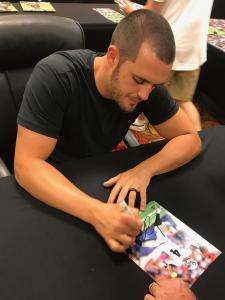 Carr Autographed Photo