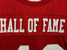 Hall of Fame Authentic San Francisco 49ers Old Style Jersey,