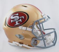 San Francisco 49ers Helmet Riddell Speed 2009-Current