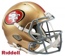 49ers Replica Speed Helmet