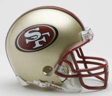 San Francisco 49ers 1996-08 Replica Mini Helmet by Riddell