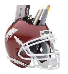 Arkansas Razorbacks College Mini Helmet Desk Caddies