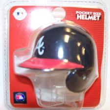 Atlanta Braves MLB Pocket Pro Batting Helmets by Riddell