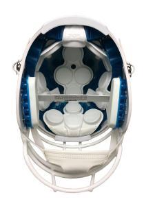 Schutt inside authentic helmet