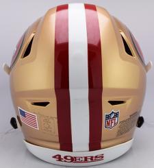 49ers Speed Flex Helmet Back