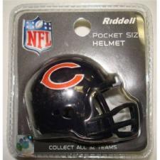 Chicago Bears Revolution Pocket Pro Helmet by Riddell