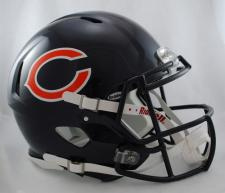 Chicago Bears Helmet Riddell Speed 1983-Current