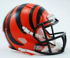 Cincinnati Bengals Mini Speed Helmets by Riddell