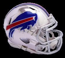 Bills Chrome Mini Helmets