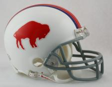 Buffalo Bills 1965-73 Throwback Replica Mini Helmet by Riddell