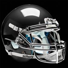 Black Chrome Helmet