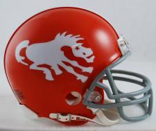 Denver Broncos 1962-65 Throwback Replica Mini Helmet by Ridd