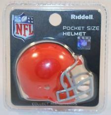 Cleveland Browns Revolution Pocket Pro Helmet by Riddell