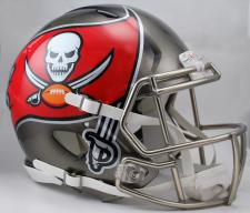 Tampa Bay Buccaneers Helmet Riddell Speed