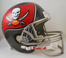 Tampa Bay Buccaneers Helmet 2014-Current Deluxe Replica Full Size by Riddell
