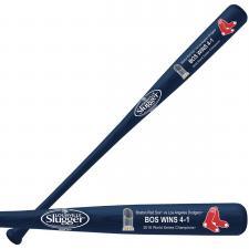 2018 Red Sox World Series Champions Bat-blue