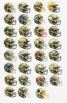 Riddell Camo Helmets