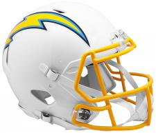 Los Angeles Chargers Helmet Riddell Speed 2019