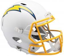 Chargers Replica Speed Helmet