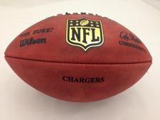 NFL Team Issued Game Model Football Chargers