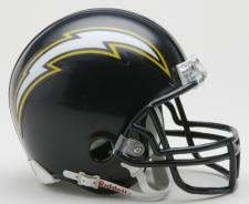 San Diego Chargers 1988-2006 Throwback Replica Mini Helmet by Ridd