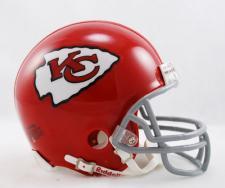 Kansas City Chiefs 1963-73 Throwback Replica Mini Helmet by Riddell