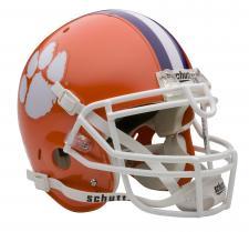 Clemson Tigers Full Size Authentic Helmet by Schutt