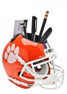 Clemson Tigers College Mini Helmet Desk Caddies