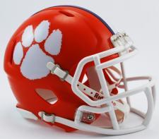 Clemson Tigers Speed Mini Helmet by Riddell