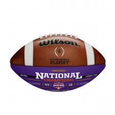 Clemson CFP Commemorative Leather Championship Football by Wilson