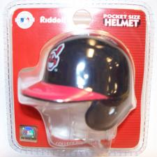 Cleveland Indians MLB Pocket Pro Batting Helmets by Riddell