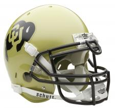 Colorado Buffalos Full Size Authentic Helmet by Schutt