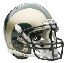 Colorado State Rams Full Size Authentic Helmet by Schutt