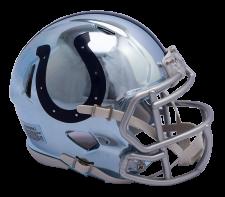 Colts Chrome Mini Helmets