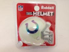 Indianapolis Colts Chrome Pocket Pro Helmets by Riddell