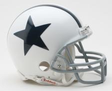 Dallas Cowboys 1960-63 w/Z2B Mask Throwback Replica Mini Helmet by Riddell