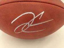 Autographed Derek Carr Football