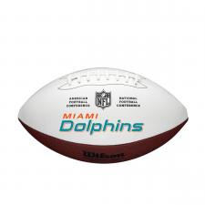 Dolphins team logo football
