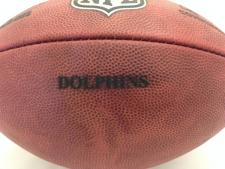 Team Issued NFL Game Footballs Dolphins
