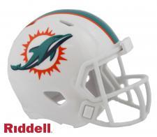 Miami Dolphins Pocket Pro Helmet by Riddell Image