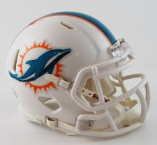 Miami Dolphins 2013 Mini Speed Helmets by Riddell