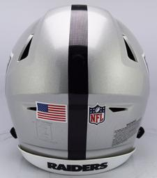Raiders SpeedFlex Helmet Back